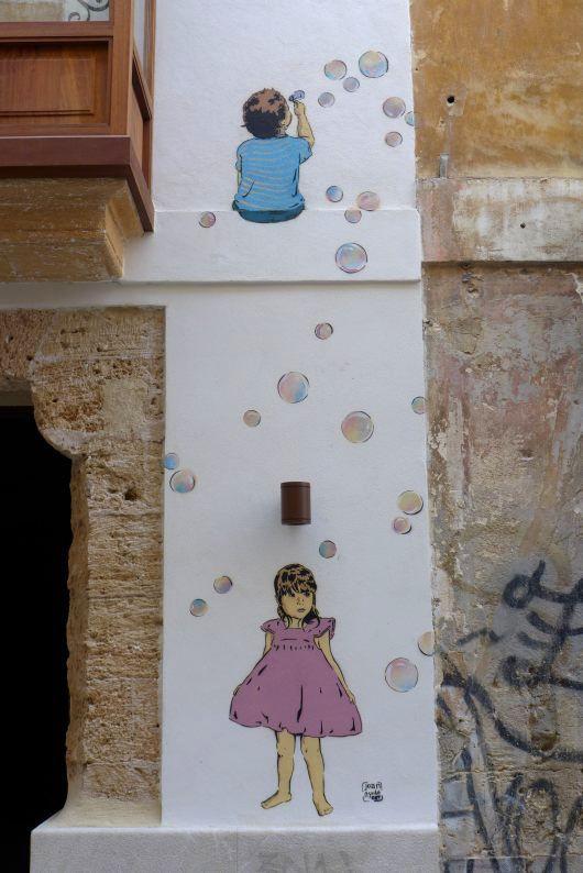 Joan Aguilo in Palma - Bombollas de Sabo