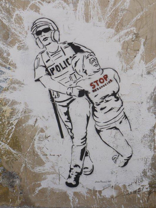 Joan Aguilo in Palma – Stop Desahucios