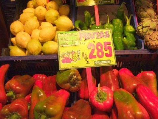 Körbe voll Gemüse