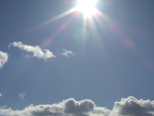 Pralle Sonne
