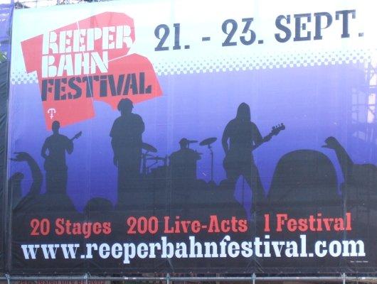 Reeperbahn Festival plakativ