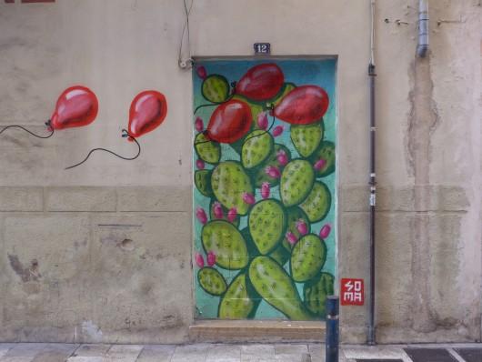 SOMA in Palma - Globos rojos