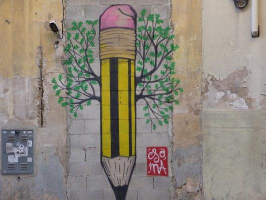 SOMA in Palma - Pencil Tree